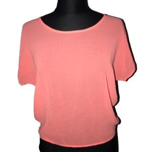 A'gaci sheer top